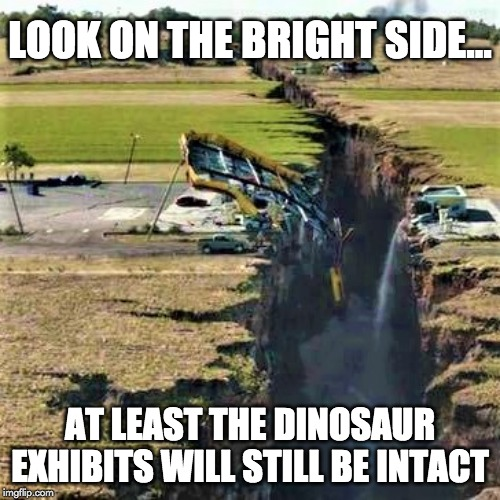 look on the bright side meme