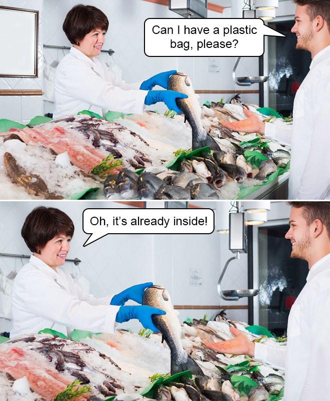 can i have a plastic bag meme