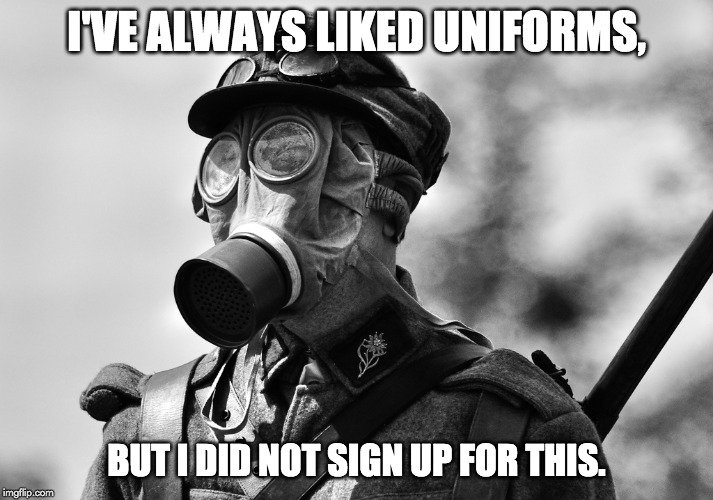 i've always liked uniforms meme