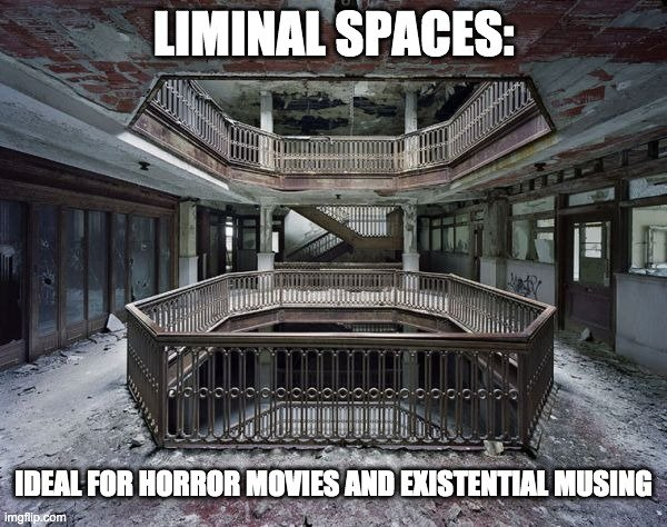 Liminal Spaces meme
