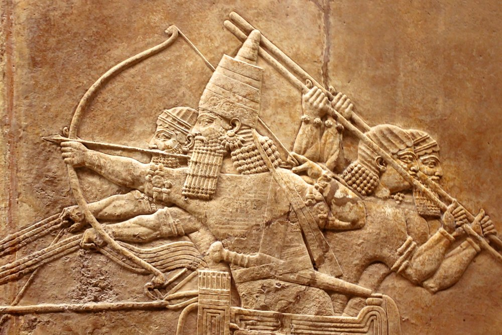 Assyrian relief on the wall(Viacheslav Lopatin)s
