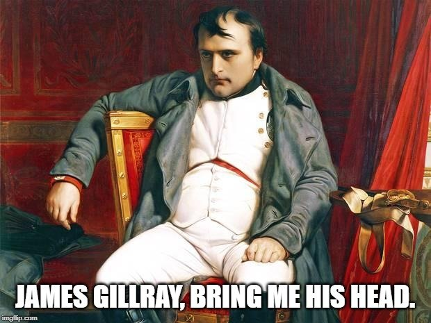 Britain wasn't fond of Napoleon because of his expanstionist tendencies.