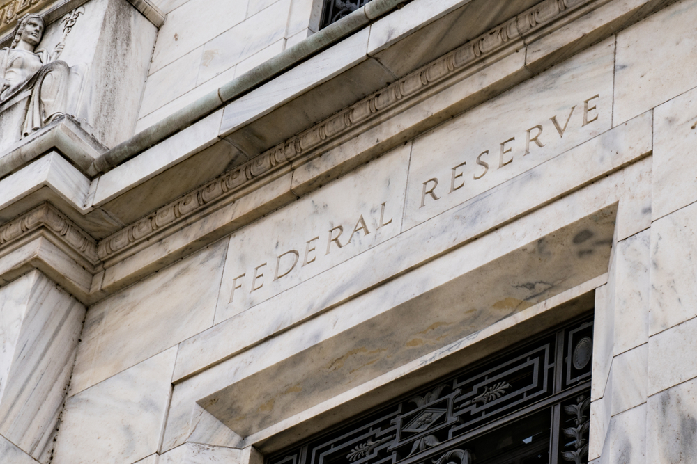 Facade on the Federal Reserve Building in Washington DC(Paul Brady Photography)S