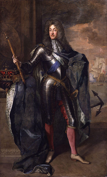 King James II by Sir Godfrey Kneller
