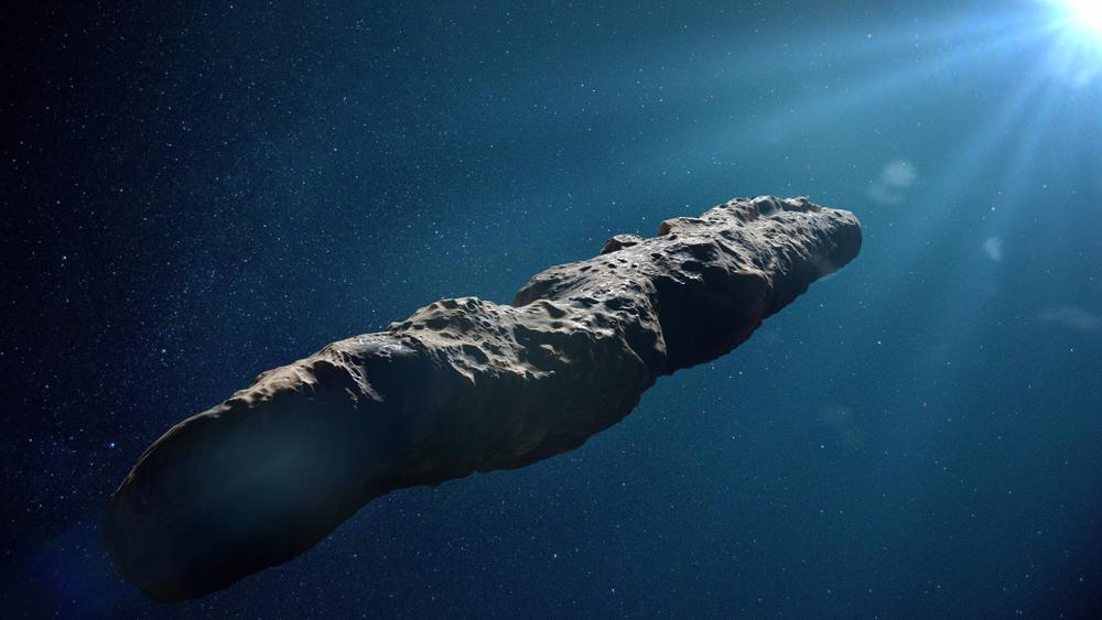Oumuamua comet, interstellar object passing through the Solar System