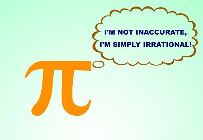 Pi is irrational