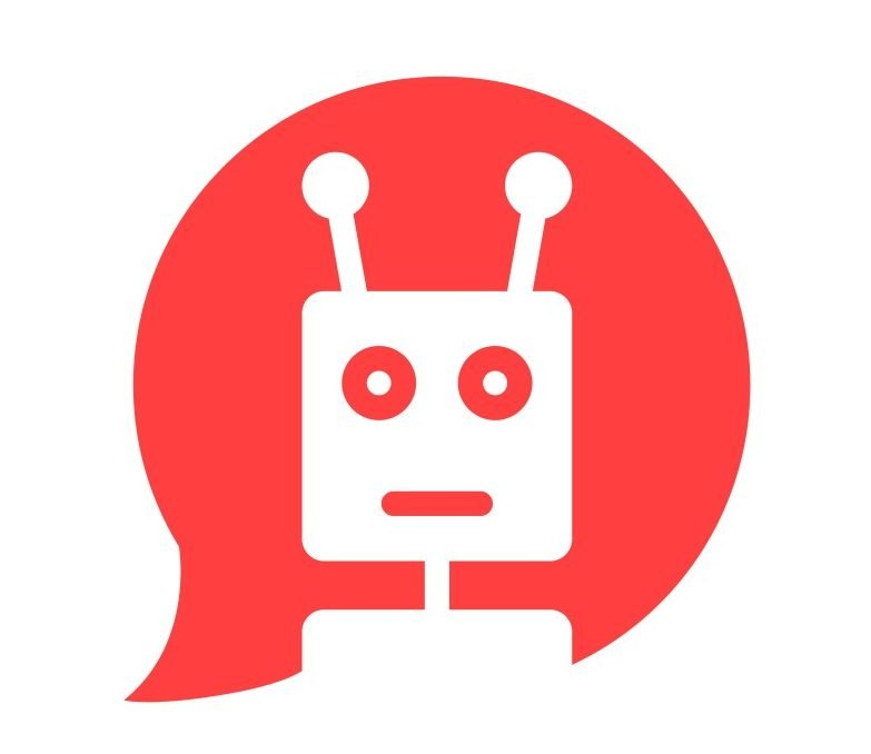 chatbot in red speech bubble(Pranch)s