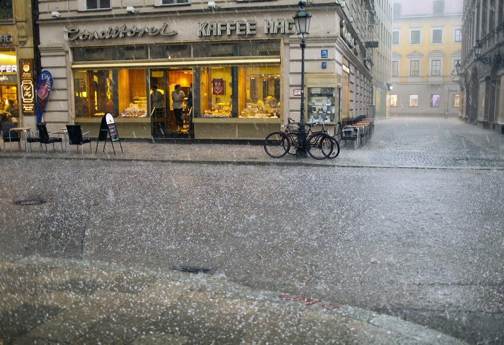 hail and heavy rain in the city(KKulikov)S