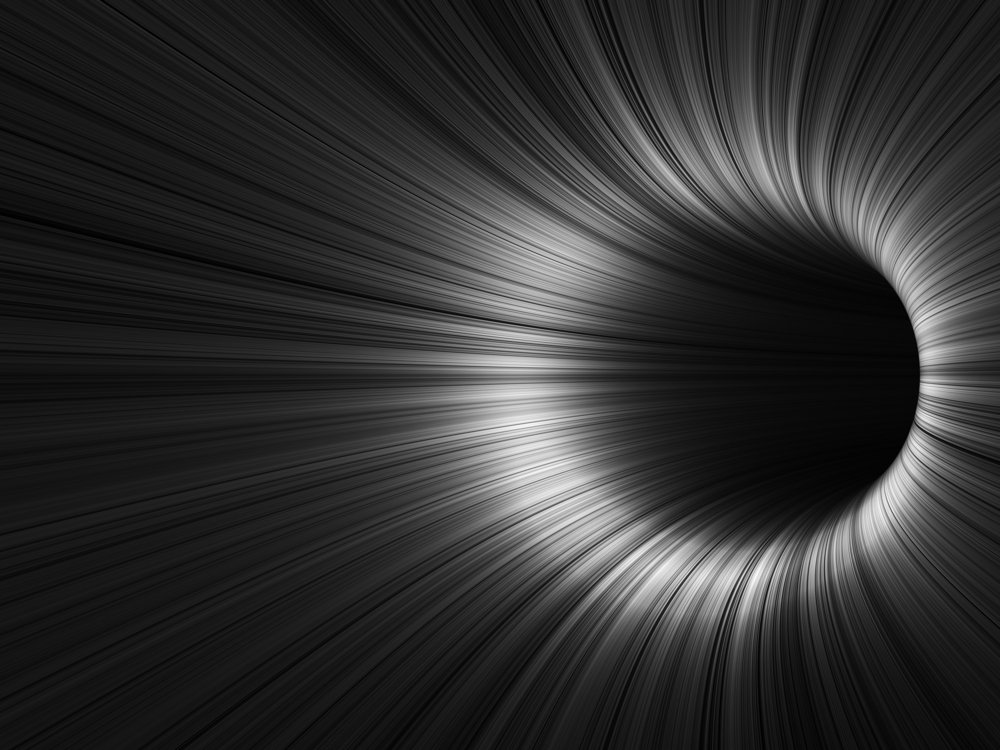 Adstract digital background, black tunnel with glowing lines(Adstract digital background, black tunnel with glowing lines,)s