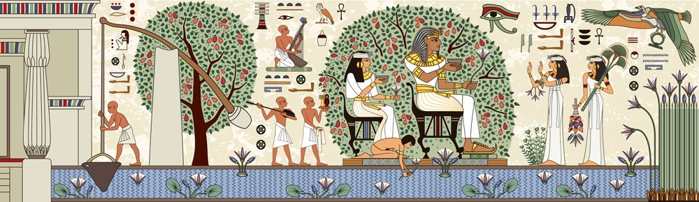 Ancient egypt background.Egyptian hieroglyph and symbolAncient culture(tan_tan)S
