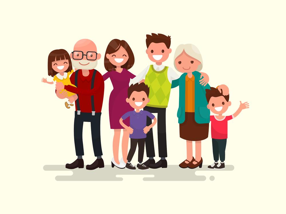 Big family together(tynyuk)s