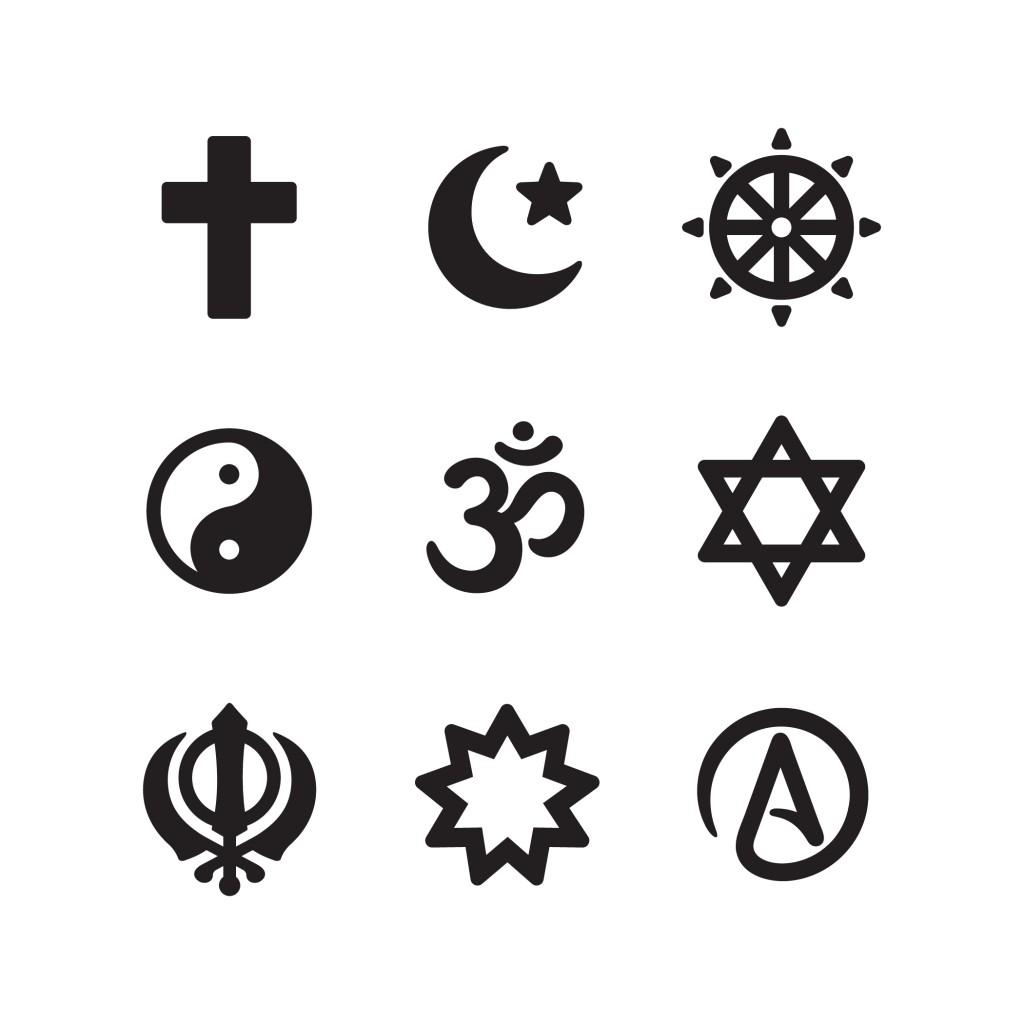 Icon set of religious symbols(Sudowoodo)s
