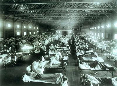 Spanish flu hospital