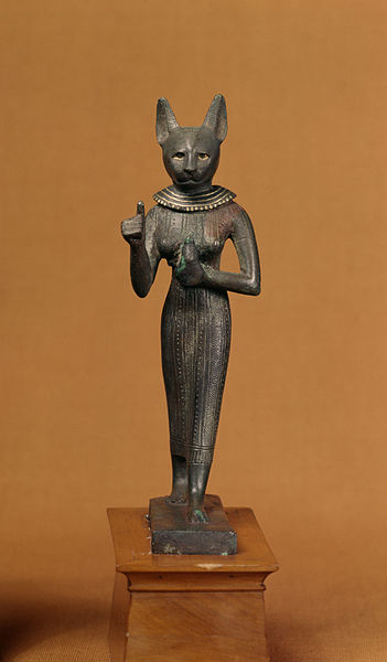 Statuette of a Standing Bastet