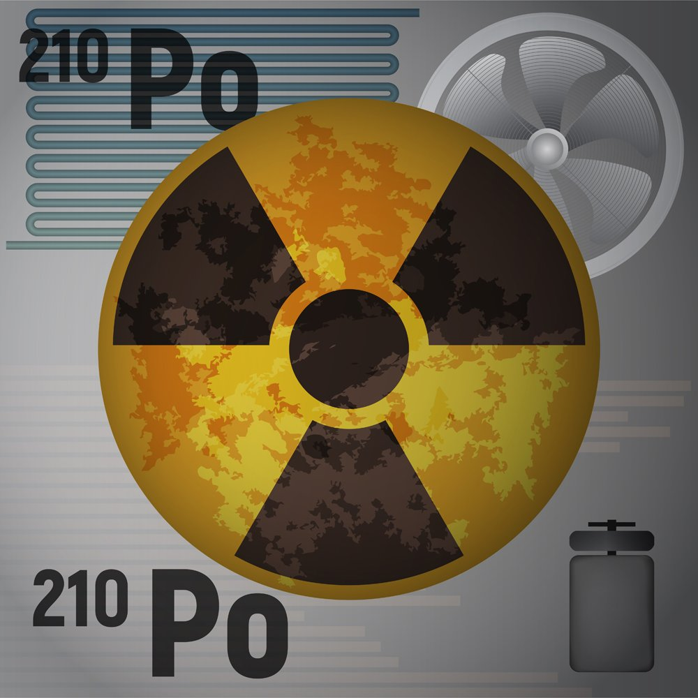 The radioactive isotope polonium 210(Meggi)S