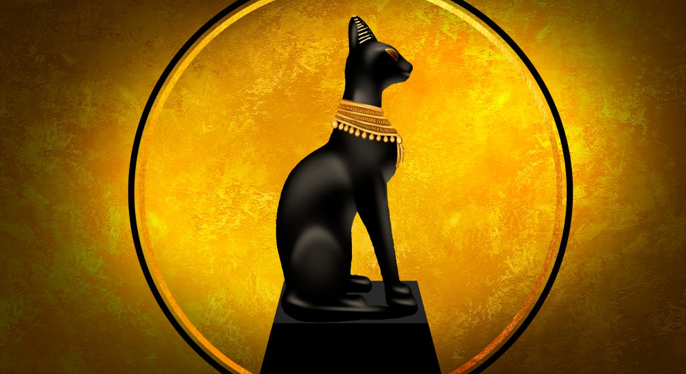 goddess of Egypt Bastet(Mia Stendal)s