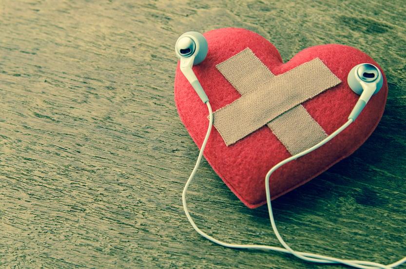 wound heart listen to music(PowerUp)s