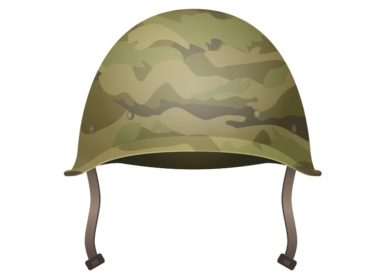 Military modern helmet with camouflage patterns(Shanvood)s