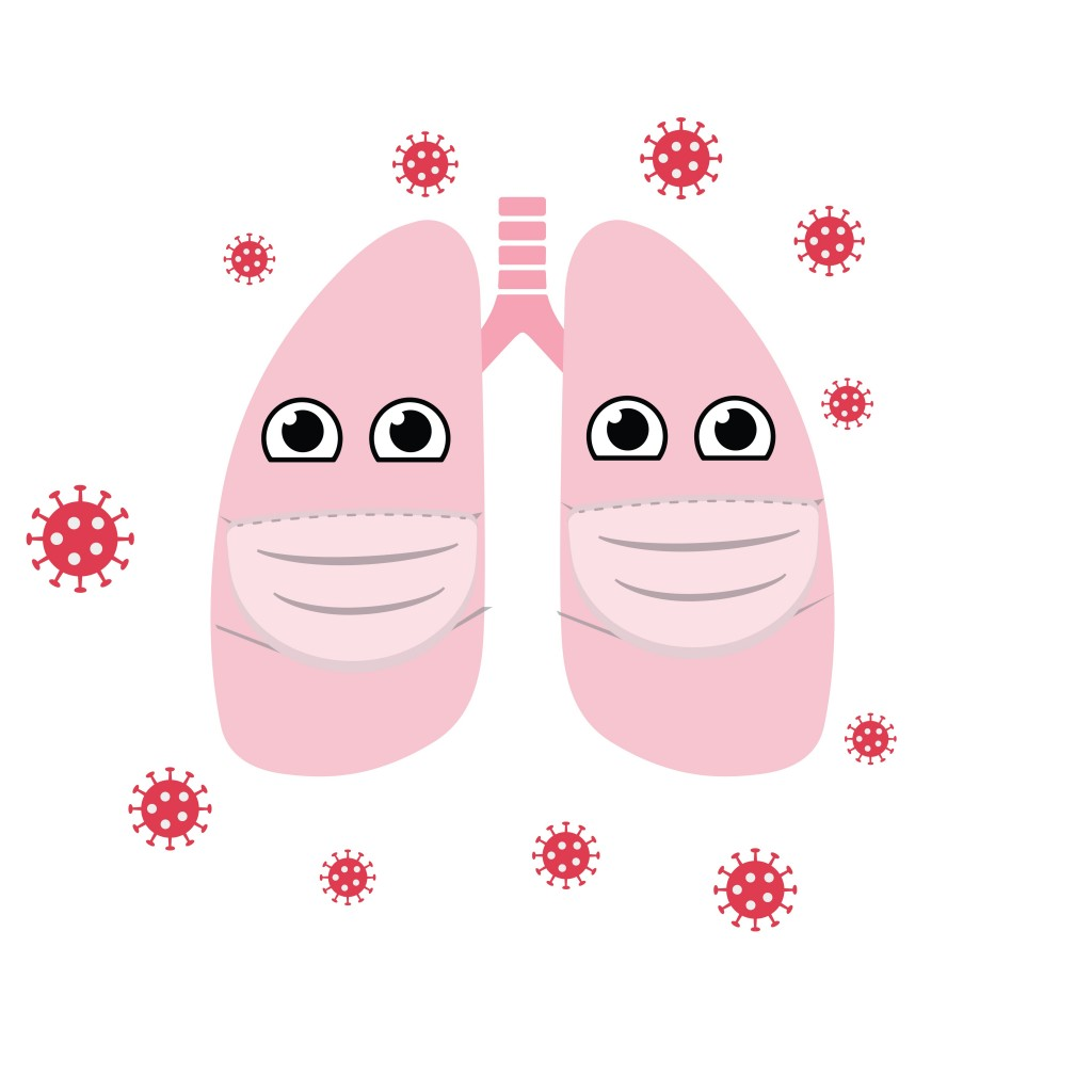Lungs being attacked