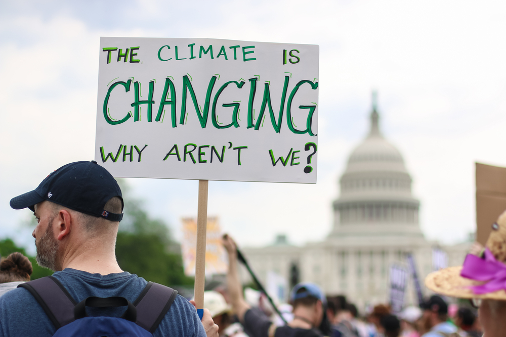 Thousands of people attend the People's Climate March to stand up against climate change(Nicole Glass Photography)s