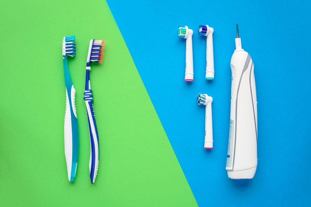 Electric and manual toothbrushes(Ugis Riba)s