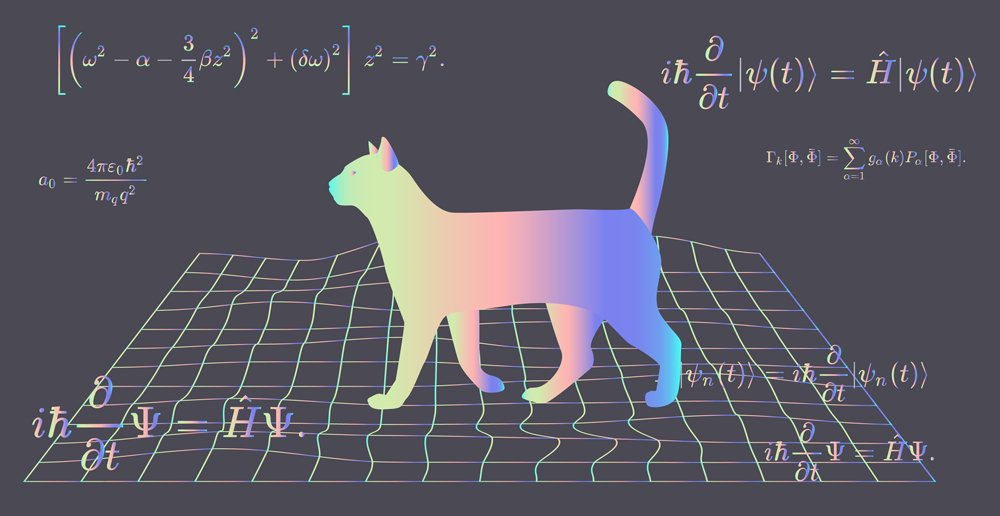 Illustration of Erwin Schroedinger's (or Schroedinger) thought experiment(local_doctor)s