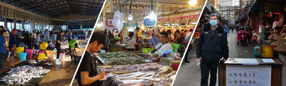 Unfortunately, wet markets are often unsanitary and unhygienic.