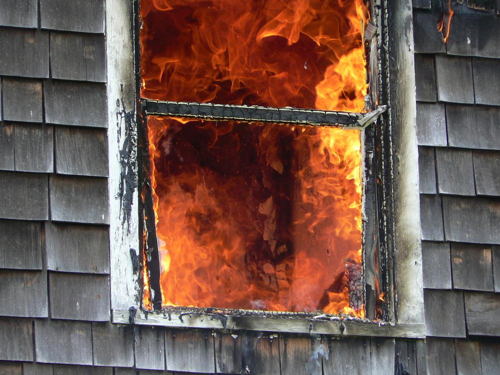 flames broken window(Ron Frank)S