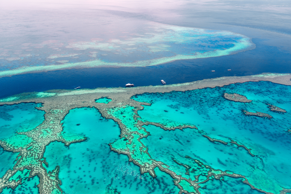 Aerial view of the Great Barrier Reef(superjoseph)s