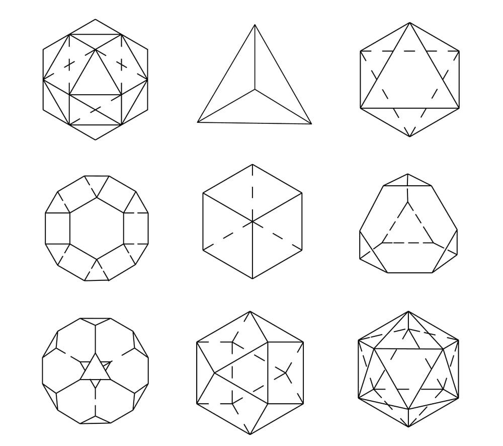 Geometric figures. Archimedes' shapes(ZASIMOV YURII)s