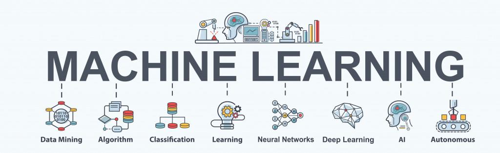 Machine learning banner web icon(buffaloboy)s