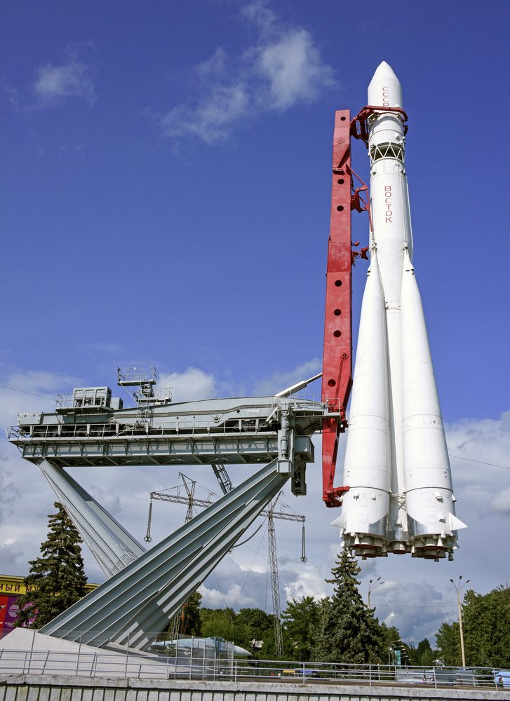 Spaceship Vostok on VDNH on July 13; 2015 in Moscow(Aleks49)s