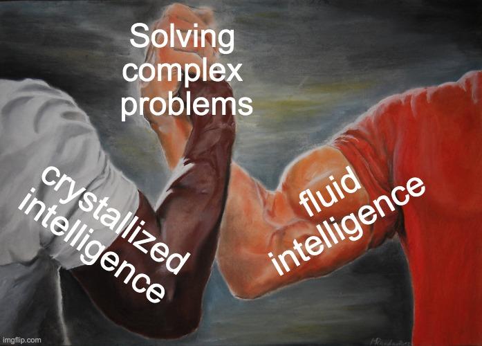 solving complex problem meme