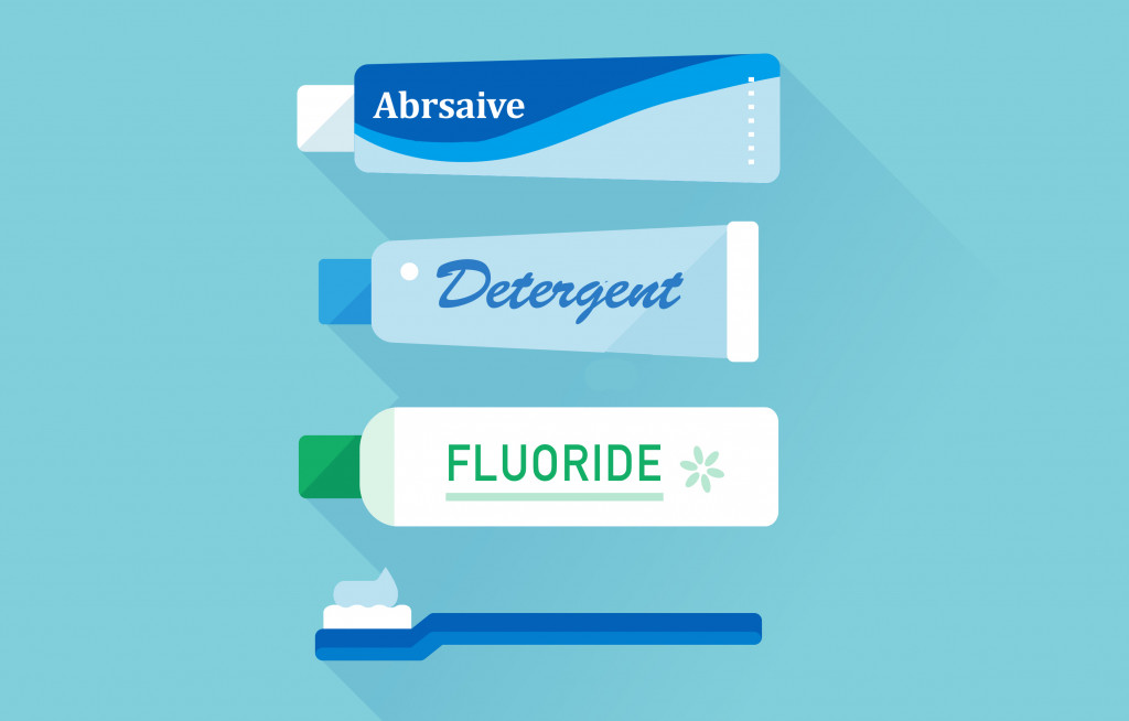 vector set of toothpaste tubes and toothbrush. Flat, isolated, sign and icon template(Banana Walking)s