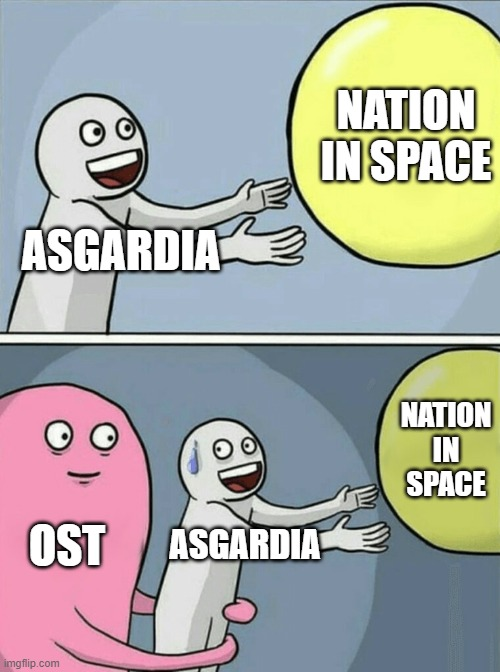 NATION IN SPACE; ASGARDIA; NATION IN SPACE; OST; ASGARDIA