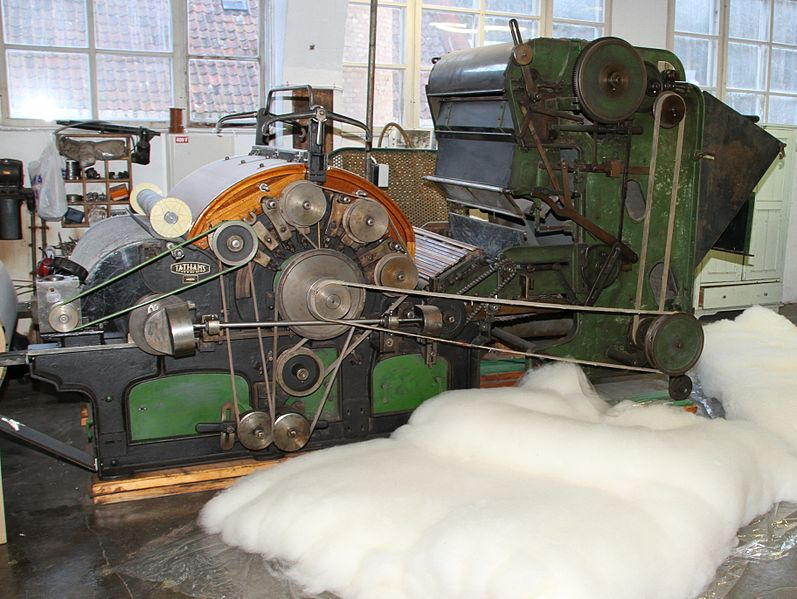 carding machine tathams of rochdale england