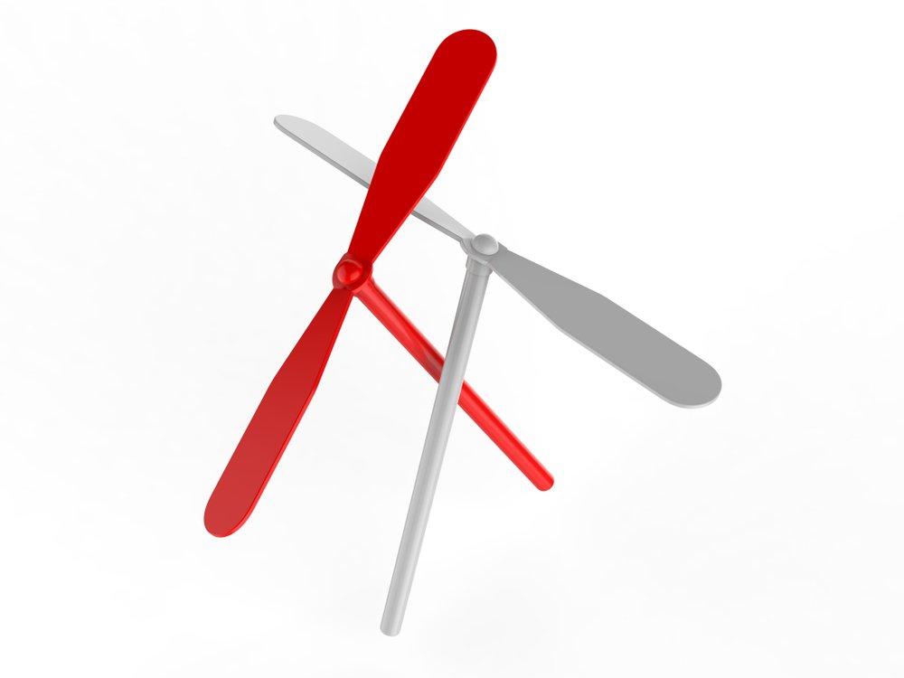 Blank Promotional Spinning Dragonfly For Branding And mock up(GO DESIGN)s