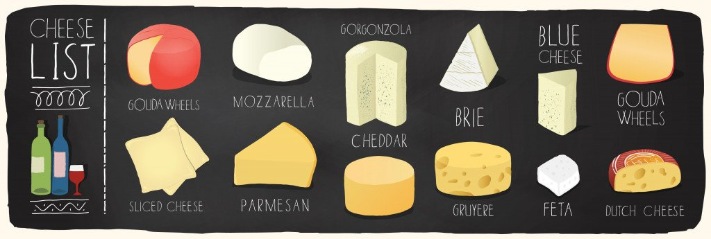Cheese plate illustration(ilkayalptekin)s