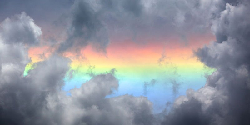 Circumhorizontal arc (Fire Rainbow)