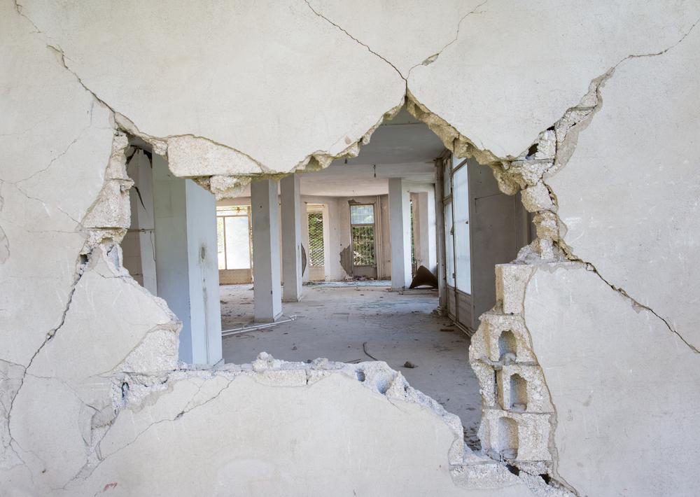 Destroyed building(muratart)s