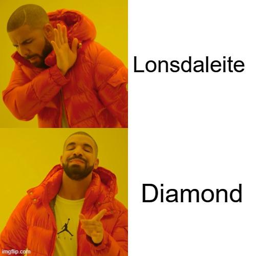 Lonsdaleite; Diamond meme