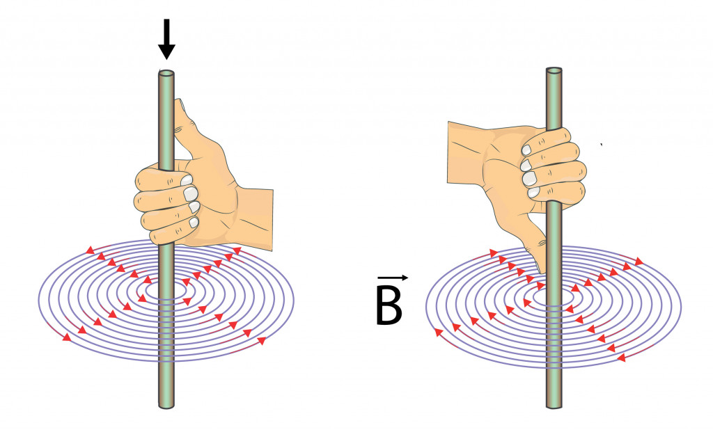 Physics - fleming's right hand rule. magnetic field(fridas)S