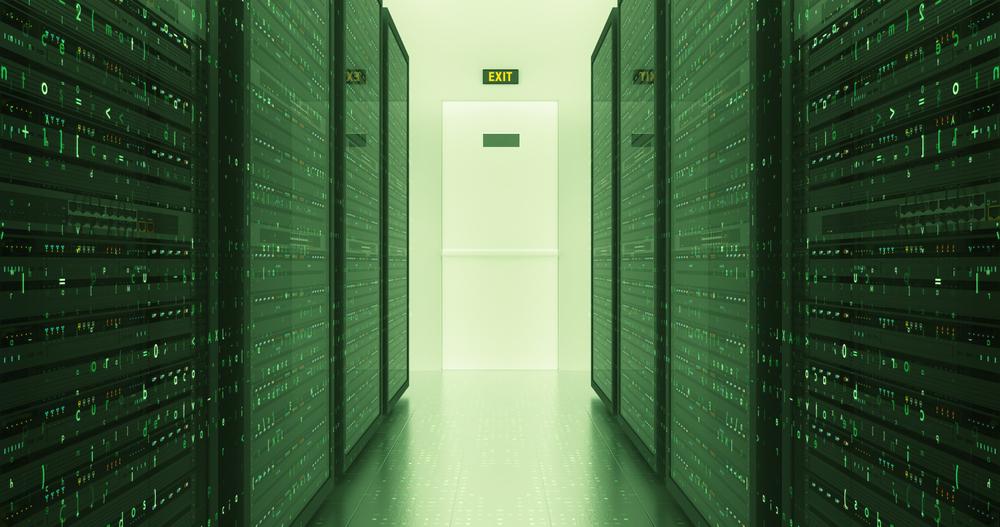 Server Racks In a Modern Data Center(yucelyilmaz)S