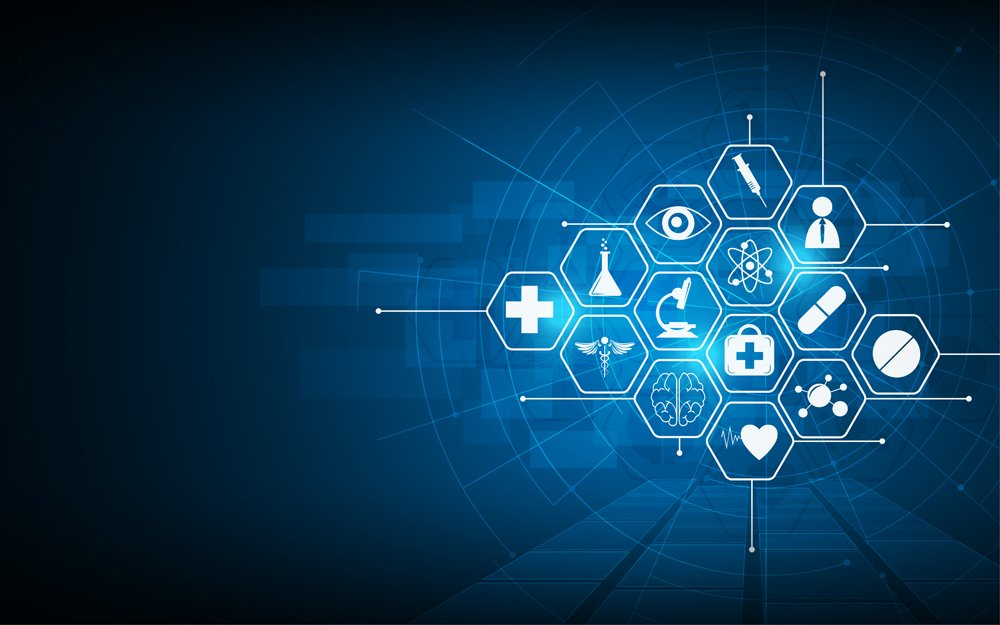 health care icon pattern medical innovation concept background design(Supphachai Salaeman)S
