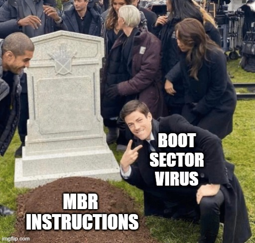 BOOT SECTOR VIRUS meme