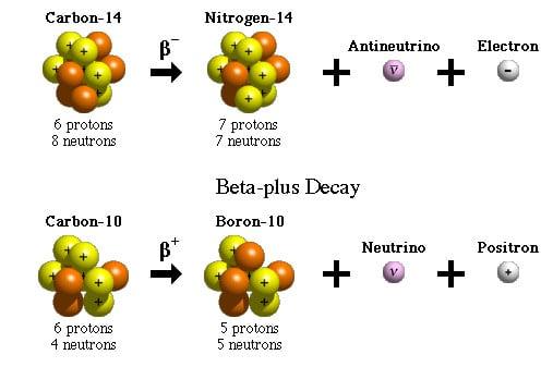 beta plus decay