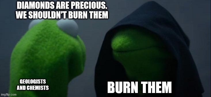 DIAMONDS ARE PRECIOUS meme