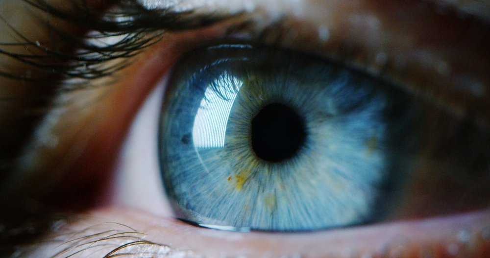 perfect blue eye macro in a sterile environment and perfect vision in resolution 6k(HQuality)s