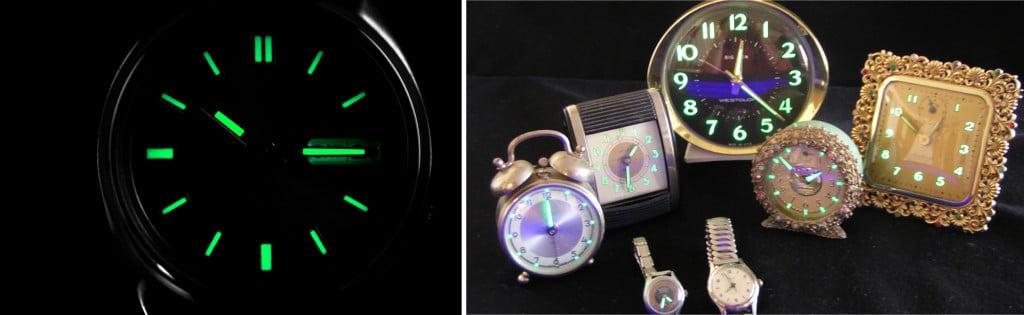redium dial clocks