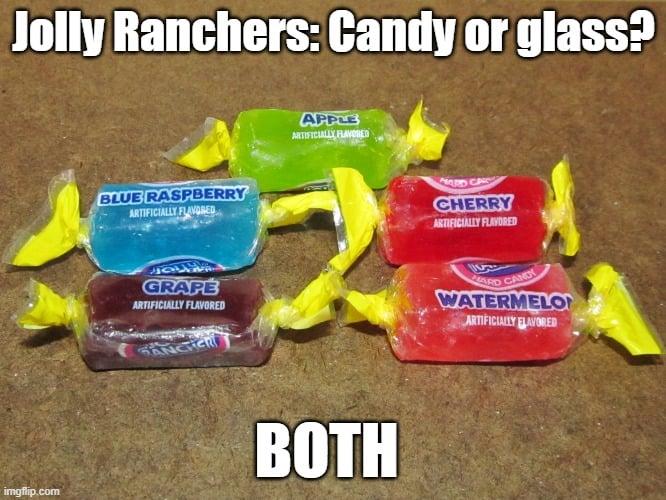 Jolly Ranchers meme